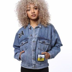 Artistix Logo Patch Denim Jacket